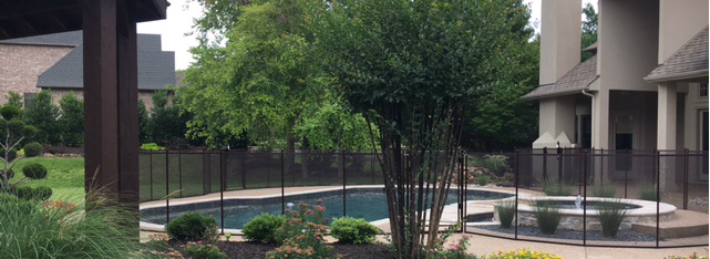 pool fence in southlake texas