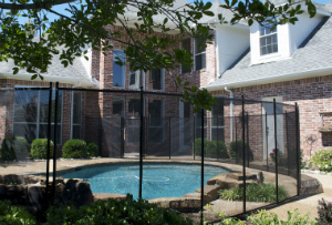 climb resistant pool fence