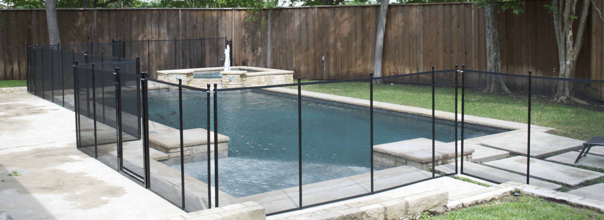 north texas pool fence locations