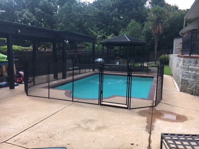 Ft. Worth Texas Pool Safety Fence Installation - Keep your ...