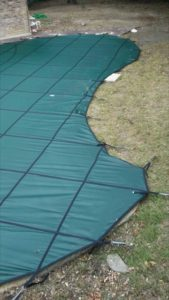 Pool Cover with lawn tubes in Dallas, TX