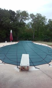 Pool Cover in Shady Shores, TX