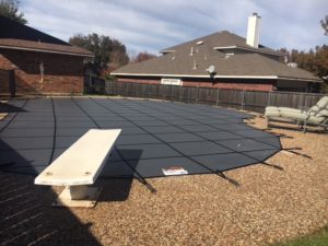 Grey Promesh Cover in Rockwall TX