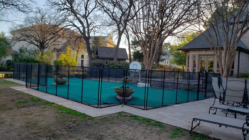 southlake texas pool fence